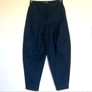 OSKA Cotton/Silk Blend Trousers Sz 0